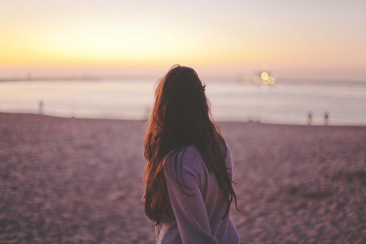 一人で生きていくことを覚悟した女性