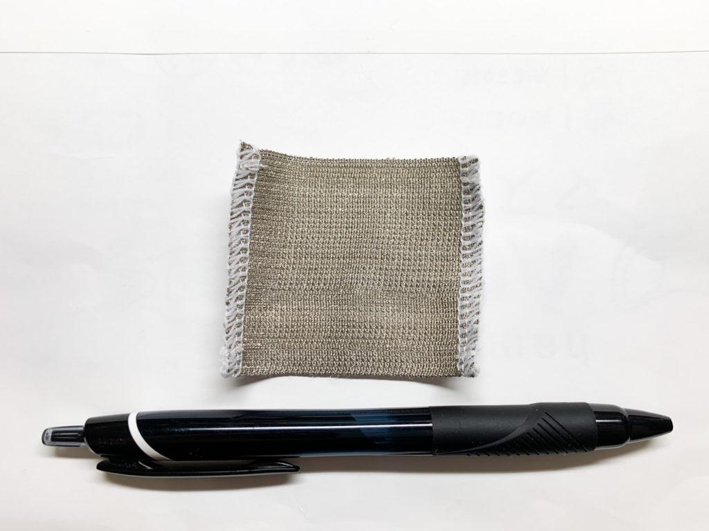 ミツフジhamonAGマスク 銀繊維ブロックシート