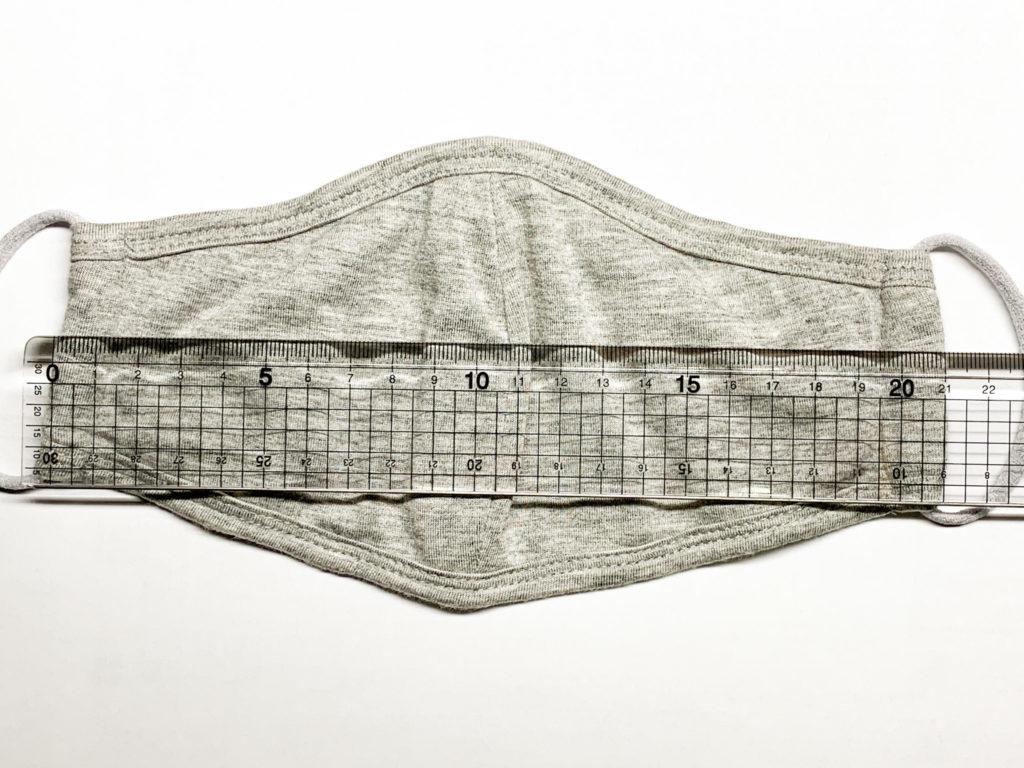 ハピデジの立体型布マスク